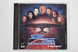 Star Trek: The Next Generation -- A Final Unity (PC, 1995) windows 95 98 me xp