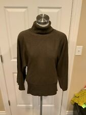 BCBG Max Azria Oversized Brown Turtleneck Sweater, Size S, NWT!