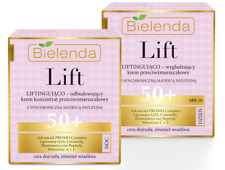 BIELENDA Lifting Heben Anti-Falten Creme 50+ TAG&NACHT Vit A+E+C,Ceramid SET