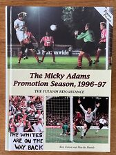 More details for the mickey adams promotion season 1996-1997 the fulham renaissance