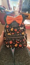 More details for **repair required** disney loungefly minnie mouse halloween back pack