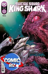 SUICIDE SQUAD KING SHARK #2 (2021) 1ST PRINTING MAIN HAIRSINE COVER DC COMICS