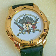 Disney land Parks Pirates Caribbean Rare Promo Watch Mickey Mouse