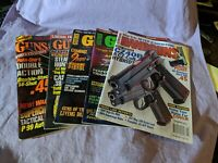 Gun Magazine Back Issues lot of 5 (Guns & Ammo Handguns / Guns & Ammo / Guns)