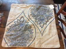 """Pottery Barn Cassidy  Medallion Pillow Cover 24"""" NWT"""