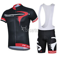 New 2015  Cycling Set Full Zipper Jersey  Short Sleeve and Cycling  Bib/Shorts