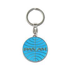 LOGOSHIRT - Airline - USA - Pan Am Logo - Metall - Schlüsselanhänger - Keyring