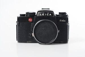 Leica R4s SLR Film Camera Body Black #870