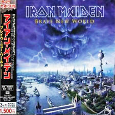IRON MAIDEN - Brave New World - Japan Jewel Case CD TOCP-53775