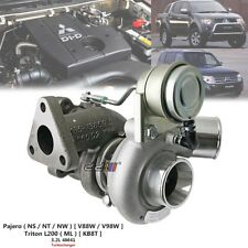 Turbo Turbocharger For Mitsubishi Triton L200 ML 3.2L 4M41 TF035 49135-02910