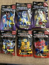 Transformers Prexio Hasbro Limited Edition Mini Figures Complete Set - Lot of 6