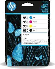 More details for genuine hp 950/951 original ink cartridge - cmy, black - inkjet - 4 / pack