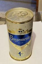 1966 Bottom Open U Tab Steel Burgermeister Pull Tab Beer Can Los Angeles Ca