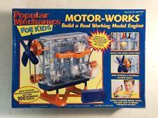 Vintage Popular Mechanics For Kids Motor Works Visible Engine Toy