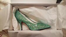 Victoria Beckham Chaussures. Dorothy Glitter Escarpins. Neuf Prix £ 350. Taille UK 6.5