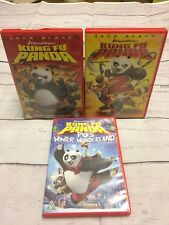 Dreamworks Kung Fu Panda DVD Bundle 1, 2 And Christmas Special