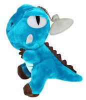 "Blue 5"" Dinosaur Plush Stuffed Animal Toy - Hanging Doll Lucky Charm Keychain"