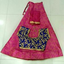 Fully stitched Indian Bollywood Designer Traditional  Lehenga Chaniya Choli