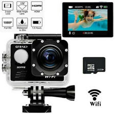 Waterproof WiFi Sports Action Camera 1080P HD 16MP 170Wide Angle DV Camcorder