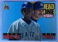Ken Griffey Jr, Don Mattingly 1994 Upper Deck Fun Pack #200 - New York Yankees +