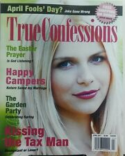 True Confessions April 2017 Kissing the Tax Man Happy Campers FREE SHIPPING sb