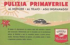 C3334) SERVIZIO MOBILOIL , PULIZIA PRIMAVERILE AL MOTORE, AL TELAIO ....