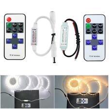 DC 12-24V Mini LED Controller Dimmer For LED Strip 3528 Remote 5050 G9R4