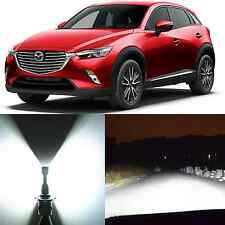 Alla Lighting High Beam Headlight 9005 Super White LED Bulbs for Mazda CX-3 CX-5