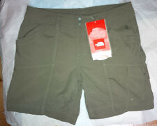 The North Face Women's Horizon Violet Shorts Size 6 Long Taupee Green New W/tags