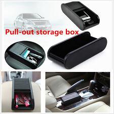 Interni BRACCIOLO Storage Box Holder Auto Adesivo Plastica Tasca Scorrevole DASH TELEFONO