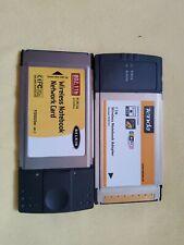 Belkin PCMCIA WLAN NETZWERKKARTE 802.11b drahtlos + Tenda 11N PCMCIA Karte