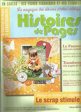 HISTOIRES DE PAGES N°27 PEINTURES EN SPRAY / TRANS. PAGE EN BD / LE FREESTYLE.