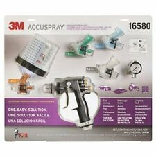 New Kit-More Tips 3M 16580 Accuspray Spray Gun System Kit With Standard PPS Cup