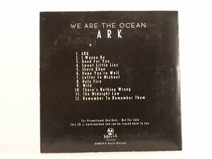 WE ARE THE OCEAN ARK (576) 12 Track Promo CD Album Picture Sleeve BMG