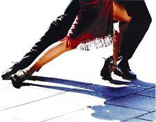 Wand Bild Michele Roohani Sport Tanzen Foto Schwarz/Weiß 54x69x1,2 cm A6SR