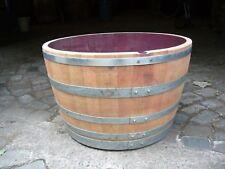 Kübel vom 300-Lt.-Weinfaß, Pflanzkübel, Blumenkübel, Holzfaß,Eichenfaß,Stehtisch