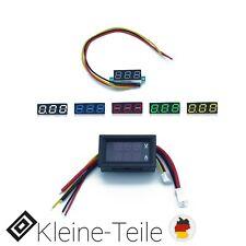 LED Digital Voltmeter DC 100V 10 A Spannungsanzeige Amperemeter Strommesser