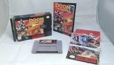 Doom Troopers - Super Nintendo Entertainment System 1995 SNES Complete Boxed CIB
