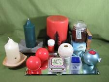 Huge lot of Retired Partylite candle holders plus candles - Must See!