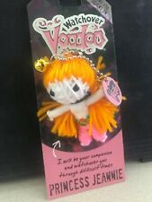 "watchover voodoo doll key chain ""Princess Jeanie"" New with packaging"