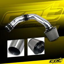 Polish Cold Air Intake + Stainless Filter For 02-06 Sentra Spec-V SE-R 2.5L