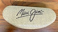 """Maui Jim Sunglasses Case Only Quality Clamshell Sunglass Case Empty 6 1/2"""" L"""