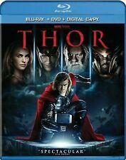 Thor (Blu-ray/DVD, 2011, 2-Disc Set, Includes Digital Copy)