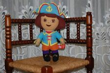 Dora Explorer Captain Pirate Soft Stuffed Doll 2007 Gosh UK 14 Inch