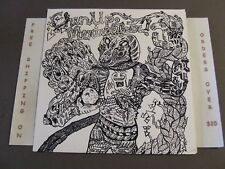 CHIN UP MERIWEATHER FRUITION LP WITH INSERT