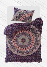 Quilt Twin Size Unbelievable Peacock Mandala Cotton Duvet Cover Comforter Indian