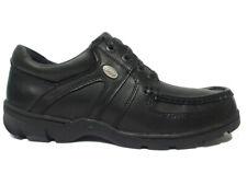 POD MAGNUS mens leather shoes blk uk size 12 bnib