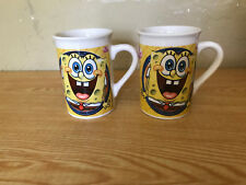 Lot of 2 Spongebob Coffee Mugs
