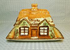 Vintage Rétro Price Kensington Cottage Ware Couvercle Beurre/Fromage Plat