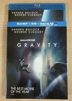Gravity (Blu-ray Disc, 2013, Includes Digital Copy 2-Disc set)